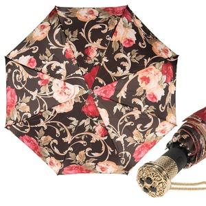 Зонт складной Pasotti Auto Palazzo Rosso Lux фото-1