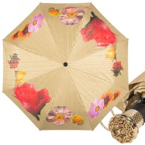 Зонт складной Pasotti Auto Pazzle Sand Lux фото-1