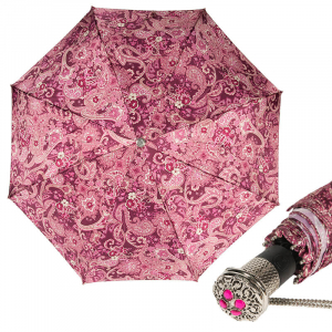 Зонт складной Pasotti Auto Slavo Fuxia LUX фото-1