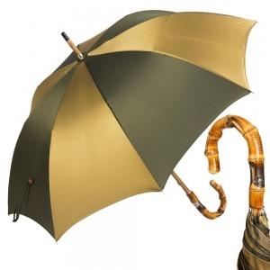 Зонт-трость Pasotti Bamboo Multi Verde фото-1