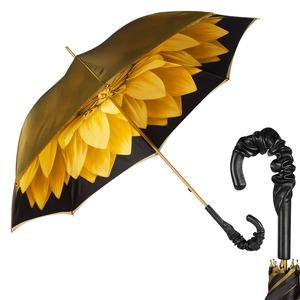 Зонт-трость Pasotti Becolore Georgin Giallo Pelle фото-1