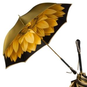 Зонт-трость Pasotti Becolore Georgin Giallo Swar фото-1