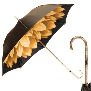 Зонт-трость Pasotti Bicolore Georgin Giallo Oro фото-1