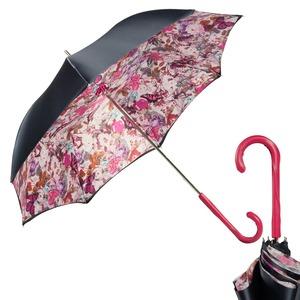 Зонт-трость Pasotti Blu Butterfly Fuxia Original фото-1