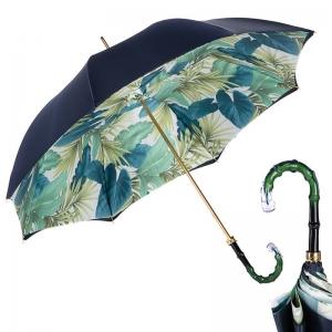 Зонт-трость Pasotti Blu Felce Boo фото-1
