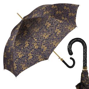 Зонт-Трость Pasotti Blu Feng Shui Pelle Rombo фото-1