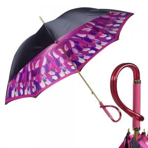 Зонт-трость Pasotti Blu Penna Fuxia Plastica фото-1