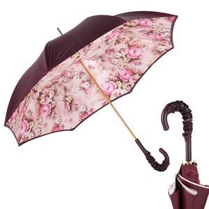 Зонт-трость Pasotti Bordo Daizy Pelle фото-1