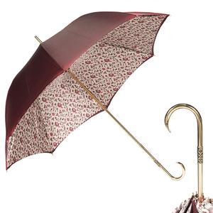 Зонт-трость Pasotti Bordo Modello Dentel Oro фото-1