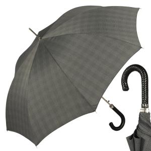 Зонт-трость Pasotti Braid Milford Grey фото-1