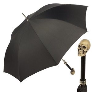 Зонт-трость Pasotti Capo Osso Grid Black фото-1