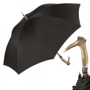 Зонт-трость Pasotti Cervo Punto Black фото-1
