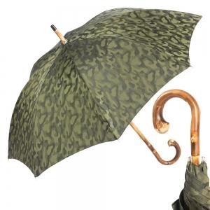 Зонт-трость Pasotti Chestnut Militari Verde  фото-1