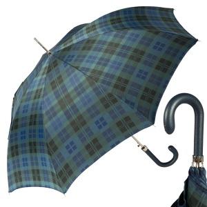 Зонт-трость Pasotti Classic Pelle Celtic Blu фото-1