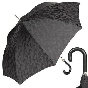 Зонт-трость Pasotti Classic Pelle Divorzi Black фото-1