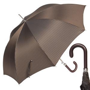 Зонт-трость Pasotti Classic Pelle Stripes S Morrone фото-1