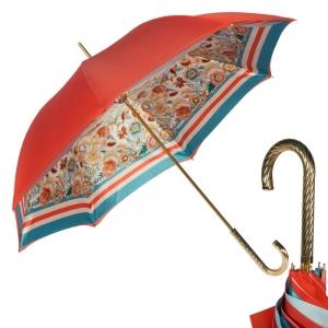 Зонт-Трость Pasotti Coral Sudario Crema Spring  фото-1