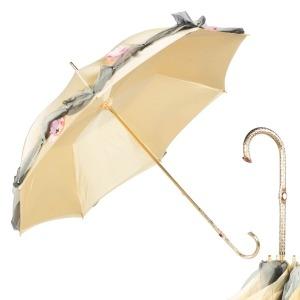 Зонт-трость Pasotti Crema Application Oro фото-1