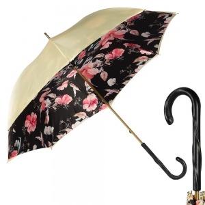 Зонт-трость Pasotti Crema Magnolia Original фото-1