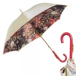 Зонт-трость Pasotti Crema Olio Classic Bamboo фото-1