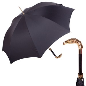 Зонт-трость Pasotti Eagle Gold StripesS Black фото-1