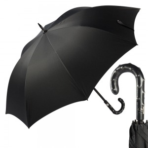 Зонт-трость Pasotti Esperto Chevron Black фото-1