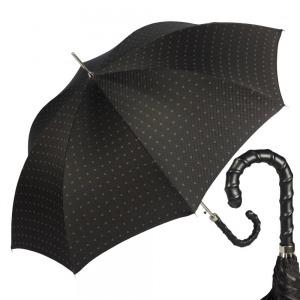 Зонт-трость Pasotti Helix Rombo Black фото-1