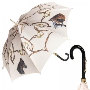 Зонт-трость Pasotti Uno Horses Vernis фото-1