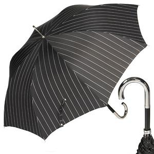 Зонт-трость Pasotti Inox StripesL Black фото-1