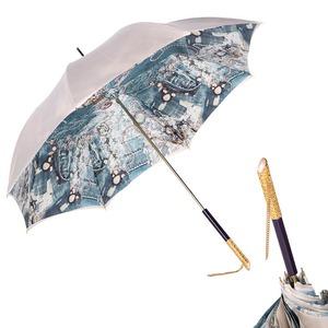 Зонт-трость Pasotti Ivory Biju Perle фото-1