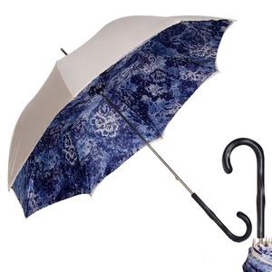 Зонт-трость Pasotti Ivory Blu Dentell Original фото-1