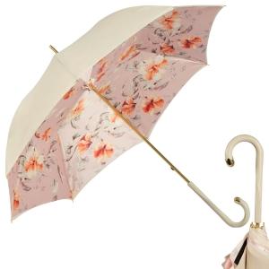 Зонт-трость Pasotti Ivory Magnolia Original фото-1