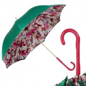 Зонт-трость Pasotti Izumrud Butterfly Fuxia Original фото-1