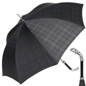 Зонт-трость Pasotti Jaguar Silver Cell Black фото-1