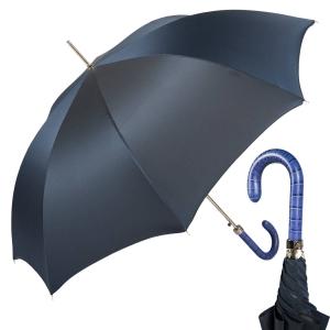Зонт-трость Pasotti Laser Oxford Blu фото-1