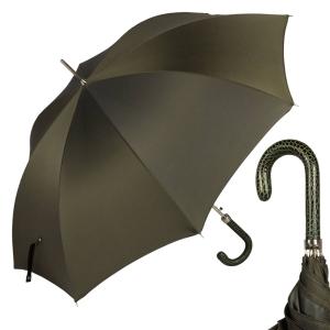 Зонт-трость Pasotti Lazer StripesS Oliva фото-1