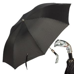 Зонт складной Pasotti Auto Jaguar Rombes Black фото-1