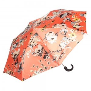 Зонт складной Pasotti Manual Ticolori Coral Pelle фото-2