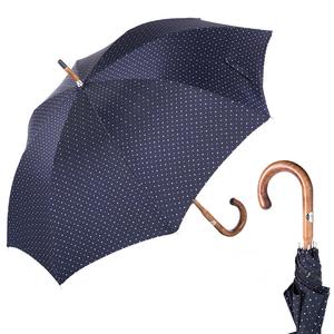 Зонт-трость Pasotti Bark Chestnut Dots Marrone фото-1