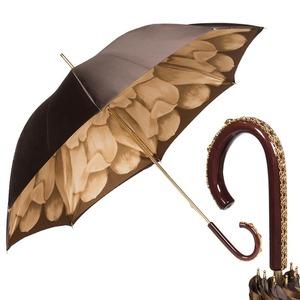 Зонт-трость Pasotti Marrone Georgin Beige Plastica фото-1