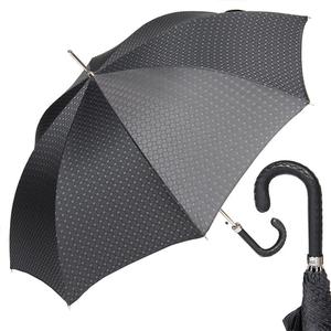 Зонт-трость Pasotti Mocasin Bizantino Black фото-1