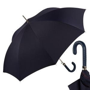 Зонт-трость Pasotti Mocasin Punto Dark Blu фото-1