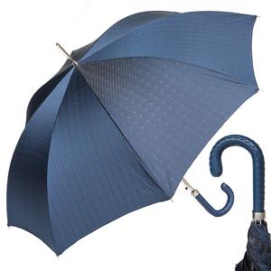 Зонт-трость Pasotti Mocasin Rombo Blu фото-1