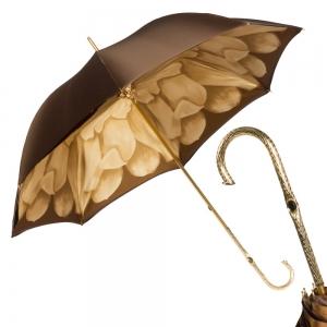 Зонт-трость Pasotti Morrone Georgin Beige Oro фото-1