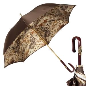 Зонт-трость Pasotti Marrone Novita Plastica Fiore фото-1