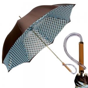 Зонт-трость Pasotti Morrone Sky Pois Plastica фото-1