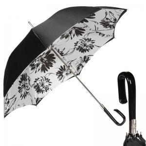 Зонт-трость Pasotti Nero Aster Plastica Fiore фото-1