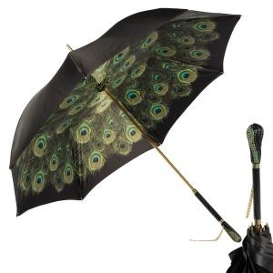 Зонт-трость Pasotti Nero Hawaii Swarovski фото-1