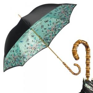 Зонт-трость Pasotti Nero Julia Bamboo фото-1