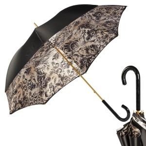 Зонт-трость Pasotti Nero Primiere Patent фото-1